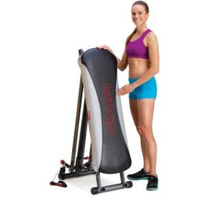 folding total gym deluxe