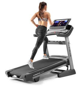 NordicTrack x221 Incline Trainer training